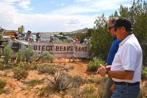 Zinke went to Bears Ears to listen, but supporters felt unheard