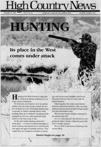 Hunting: Its place in the West comes under attack