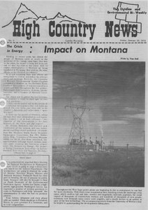The crisis in energy: impact on Montana