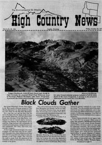 Black clouds gather