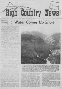 The crisis in energy: Water comes up short