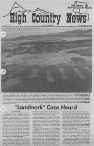 'Landmark' case heard