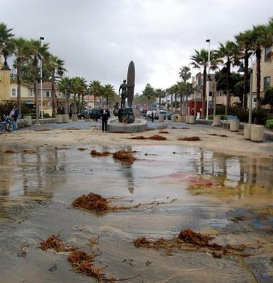 ¿Puede una ciudad de California replegarse para cederle paso al mar?