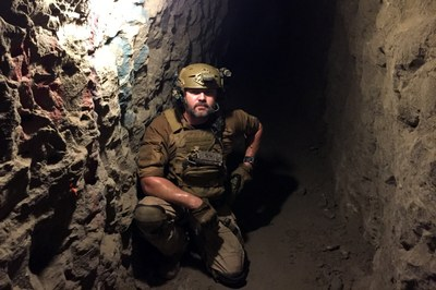 As the border wall grows, smuggling tunnels proliferate