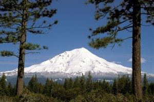 Below Mount Shasta, a fight burbles over bottled water