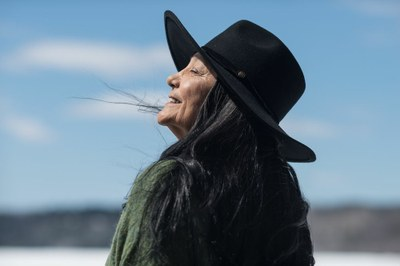 Tantoo Cardinal shines in the new film 'Falls Around Her'