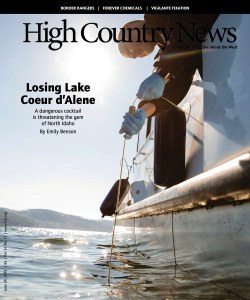Losing Lake Coeur d'Alene