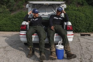 See the journey to a new career at a wildland fire academy