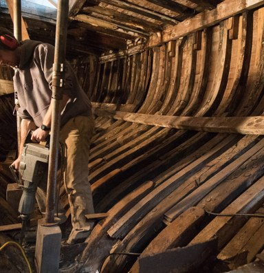 One man's mission to save a historic ship built a digital community