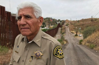 An Arizona border sheriff confronts the wall