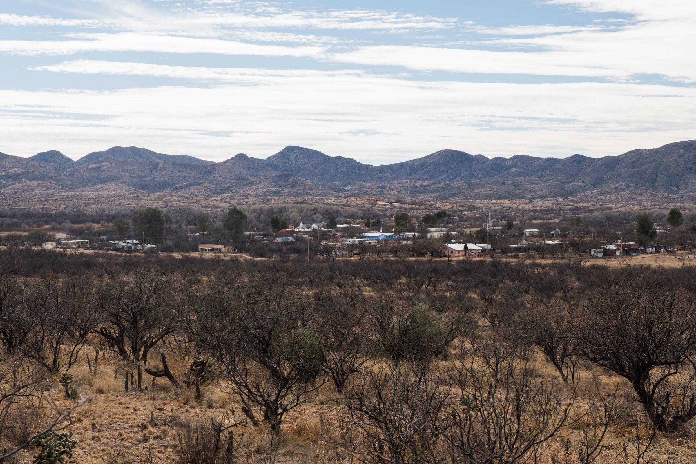 Arivaca Arizona A Dozen Miles North Of The Mexican Border