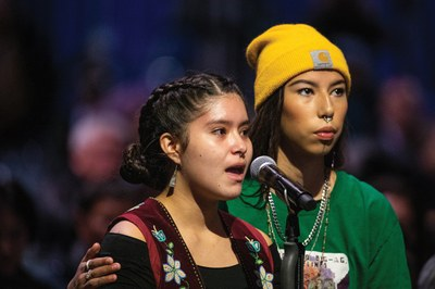 Young Indigenous activists lead climate justice action in Alaska