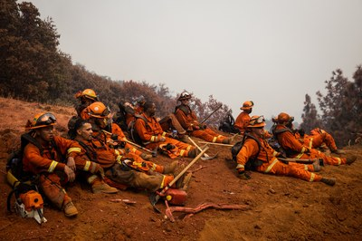 Former California prisoners may become professional wildfire fighters