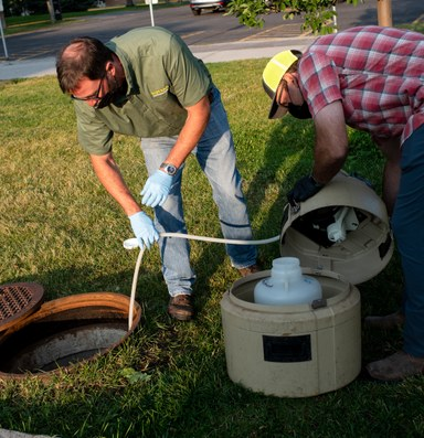What sewage can tell us about the spread of COVID-19