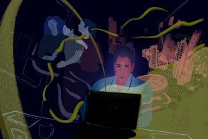Between California and Colombia, the internet becomes home