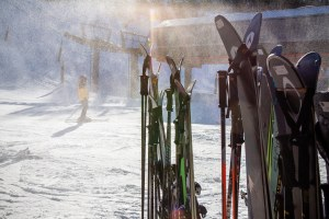 For skiers, there's a contaminant underfoot