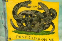 The Gadsden flag is a symbol. But whose?