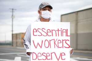 Coronavirus concerns revive labor organizing
