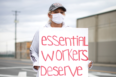 Coronavirus concerns revive labor organizing