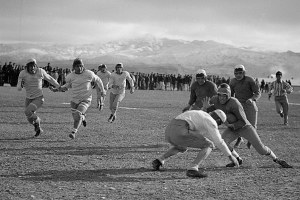 A high school football team's wartime resistance