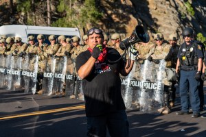 Charges dropped for Black Hills protesters