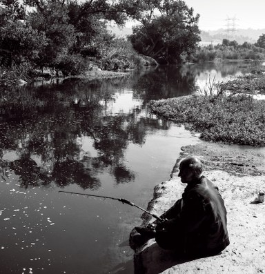 The Los Angeles River's overlooked anglers