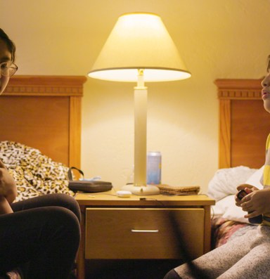 Film: After wildfire, a motel becomes a temporary refuge