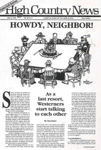 Howdy, neighbor!
