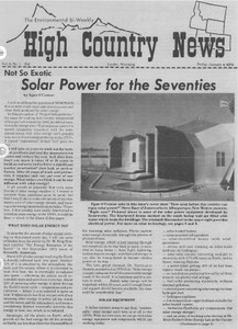 Not so exotic: Solar power for the Seventies
