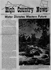 Water dictates Western future