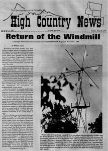 Return of the windmill