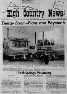 Energy boom -- plans and payments