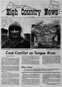 Coal conflict on Tongue River