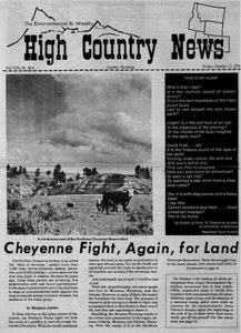 Cheyenne fight, again, for land