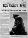Ranching industry on the rocks