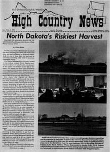 North Dakota's riskiest harvest