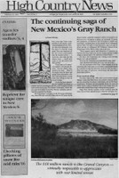 The continuing saga of New Mexico's Gray Ranch