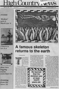 A famous skeleton returns to the earth
