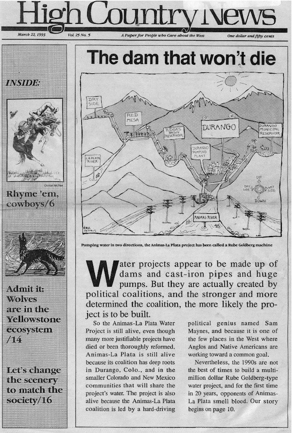 1993: The West, according to the NYT