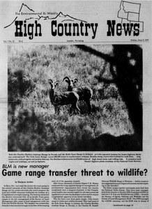 Game range transfer threat to wildlife?