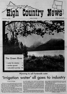 'Irrigation water' all goes to industry