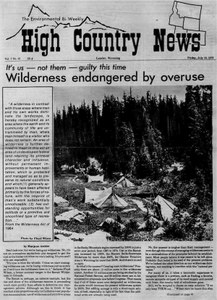 Wilderness endangered by overuse