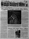 Phosphate-hungry world after Idaho
