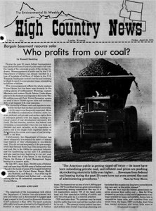 Who profits from our coal?