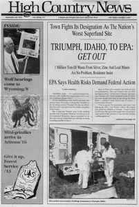 Triumph, Idaho, to EPA: Get out
