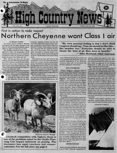 Northern Cheyenne want Class I air