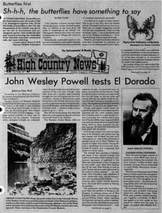 John Wesley Powell tests El Dorado
