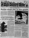 Boulder adopts plan to slow growth