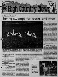 Saving swamps for ducks and men