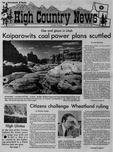 Kaiparowits coal power plans scuttled
